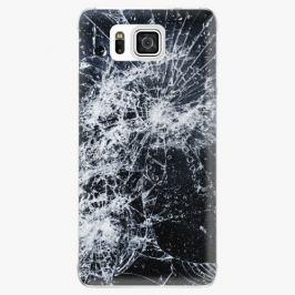 Plastový kryt iSaprio - Cracked - Samsung Galaxy Alpha
