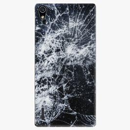 Plastový kryt iSaprio - Cracked - Huawei Ascend P7