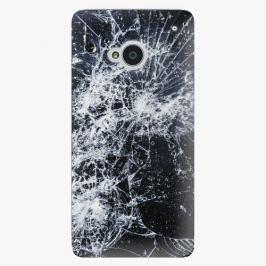 Plastový kryt iSaprio - Cracked - HTC One M7
