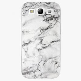 Plastový kryt iSaprio - White Marble 01 - Samsung Galaxy S3