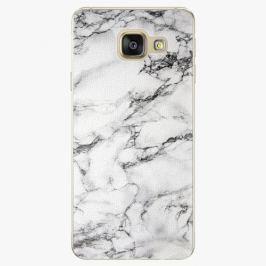 Plastový kryt iSaprio - White Marble 01 - Samsung Galaxy A3 2016