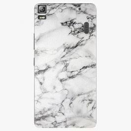 Plastový kryt iSaprio - White Marble 01 - Lenovo A7000