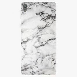 Plastový kryt iSaprio - White Marble 01 - Sony Xperia E5