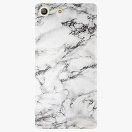 Plastový kryt iSaprio - White Marble 01 - Sony Xperia M5