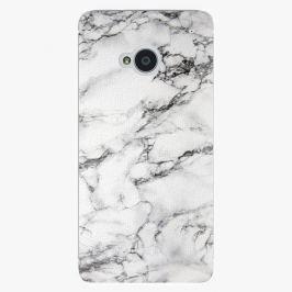 Plastový kryt iSaprio - White Marble 01 - HTC One M7