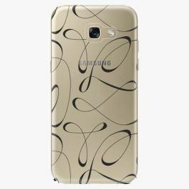 Plastový kryt iSaprio - Fancy - black - Samsung Galaxy A5 2017