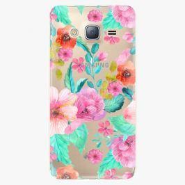 Plastový kryt iSaprio - Flower Pattern 01 - Samsung Galaxy J3