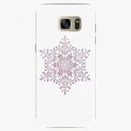 Plastový kryt iSaprio - Snow Flake - Samsung Galaxy S7 Edge