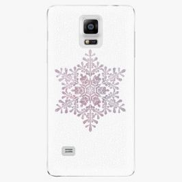 Plastový kryt iSaprio - Snow Flake - Samsung Galaxy Note 4