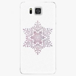 Plastový kryt iSaprio - Snow Flake - Samsung Galaxy Alpha
