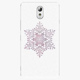 Plastový kryt iSaprio - Snow Flake - Lenovo P1m