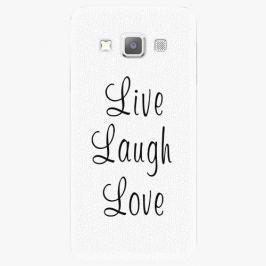 Plastový kryt iSaprio - Live Laugh Love - Samsung Galaxy A7