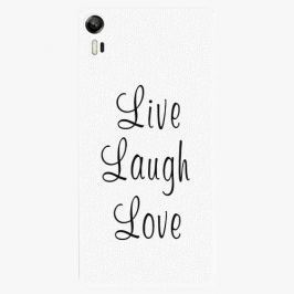 Plastový kryt iSaprio - Live Laugh Love - Lenovo Vibe Shot