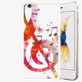Plastový kryt iSaprio - Love Music - iPhone 6 Plus/6S Plus - Gold