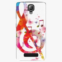Plastový kryt iSaprio - Love Music - Lenovo A1000