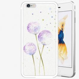Plastový kryt iSaprio - Dandelion - iPhone 6 Plus/6S Plus - Silver