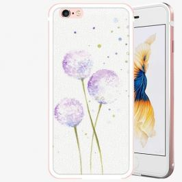 Plastový kryt iSaprio - Dandelion - iPhone 6 Plus/6S Plus - Rose Gold
