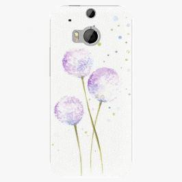 Plastový kryt iSaprio - Dandelion - HTC One M8