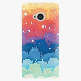Plastový kryt iSaprio - Cats World - HTC One M7