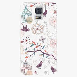 Plastový kryt iSaprio - Birds - Samsung Galaxy S5