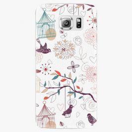 Plastový kryt iSaprio - Birds - Samsung Galaxy S6 Edge