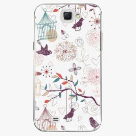 Plastový kryt iSaprio - Birds - Samsung Galaxy Note 2