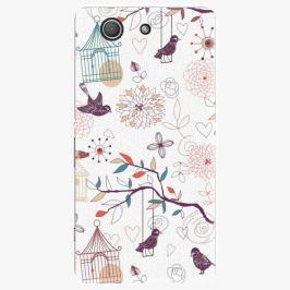 Plastový kryt iSaprio - Birds - Sony Xperia Z3 Compact