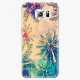 Plastový kryt iSaprio - Palm Beach - Samsung Galaxy S6 Edge