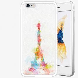 Plastový kryt iSaprio - Eiffel Tower - iPhone 6/6S - Silver