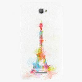 Plastový kryt iSaprio - Eiffel Tower - Sony Xperia E4