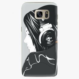 Plastový kryt iSaprio - Headphones - Samsung Galaxy S7 Edge