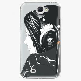 Plastový kryt iSaprio - Headphones - Samsung Galaxy Note 2