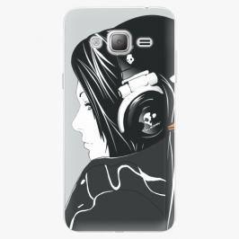 Plastový kryt iSaprio - Headphones - Samsung Galaxy J3 2016