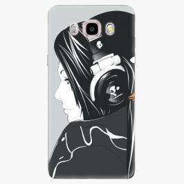 Plastový kryt iSaprio - Headphones - Samsung Galaxy J5 2016