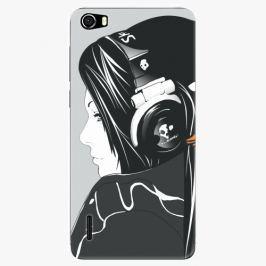 Plastový kryt iSaprio - Headphones - Huawei Honor 6