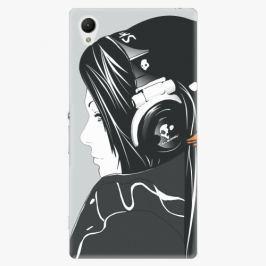 Plastový kryt iSaprio - Headphones - Sony Xperia Z1