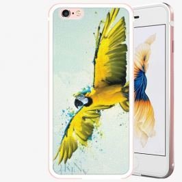 Plastový kryt iSaprio - Born to Fly - iPhone 6/6S - Rose Gold