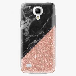 Plastový kryt iSaprio - Rose and Black Marble - Samsung Galaxy S4 Mini