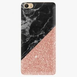 Plastový kryt iSaprio - Rose and Black Marble - Xiaomi Mi5
