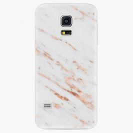 Plastový kryt iSaprio - Rose Gold Marble - Samsung Galaxy S5 Mini