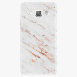 Plastový kryt iSaprio - Rose Gold Marble - Samsung Galaxy A7