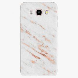 Plastový kryt iSaprio - Rose Gold Marble - Samsung Galaxy J5 2016