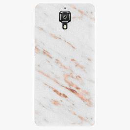 Plastový kryt iSaprio - Rose Gold Marble - Xiaomi Mi4