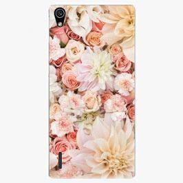 Plastový kryt iSaprio - Flower Pattern 06 - Huawei Ascend P7
