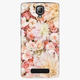 Plastový kryt iSaprio - Flower Pattern 06 - Lenovo A1000
