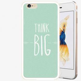 Plastový kryt iSaprio - Think Big - iPhone 6 Plus/6S Plus - Gold