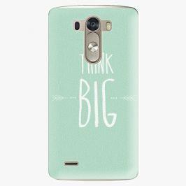 Plastový kryt iSaprio - Think Big - LG G3 (D855)