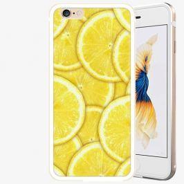 Plastový kryt iSaprio - Yellow - iPhone 6 Plus/6S Plus - Gold