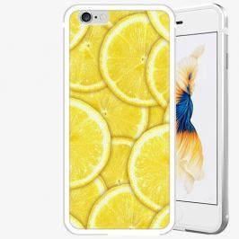 Plastový kryt iSaprio - Yellow - iPhone 6 Plus/6S Plus - Silver