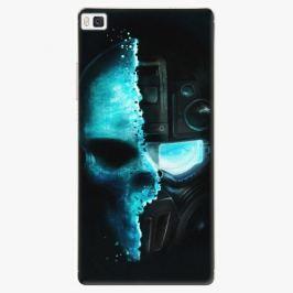 Plastový kryt iSaprio - Roboskull - Huawei Ascend P8